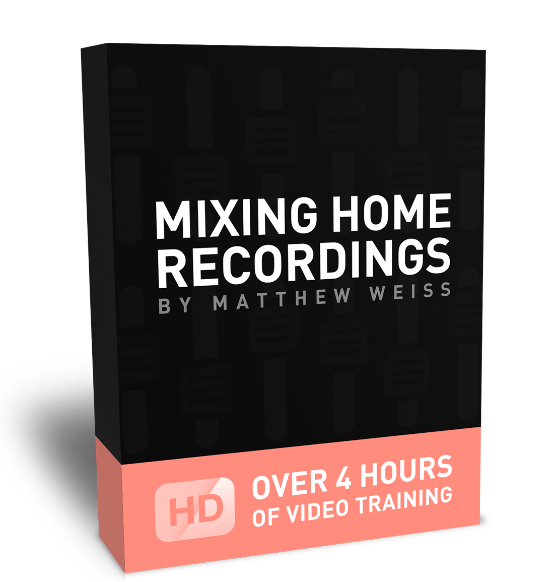 Mixing Home Recording product box